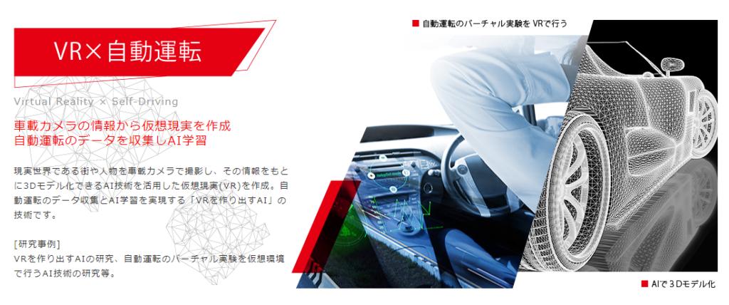 VR×自動運転